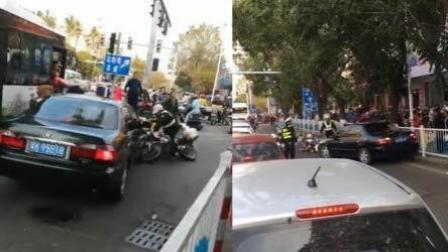 男子路遇查车疯狂冲卡 撞伤3名民警逃逸