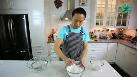 小烤箱做蛋糕 刘清西点蛋糕培训学校 超简单慕斯蛋糕做法