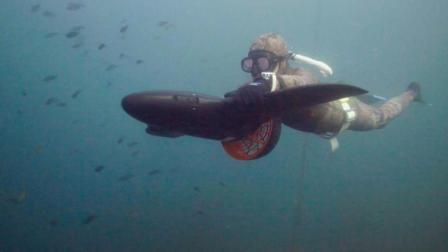 造型像飞机, 能在水里带你潜游, 时速高达9公里!