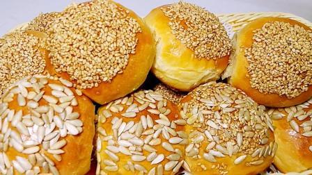 想吃面包不用买了, 教你用最简单的方法做美味小面包, 好吃又健康