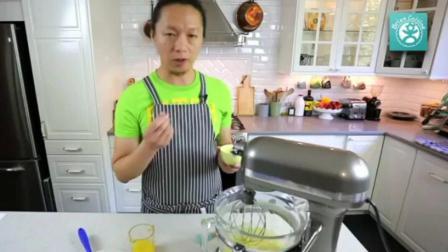 电饭锅做蛋糕的方法图 自己在家怎么做生日蛋糕 烤箱做鸡蛋糕