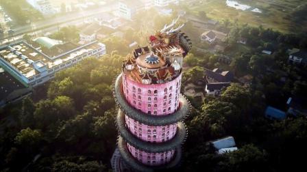 世界上造型最独特的龙庙, 巨龙盘绕, 来源至今是个谜