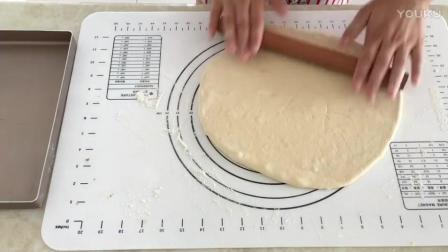 蓝带烘焙教程 葱香肉松面包卷制作视频教程lv0 烘焙蛋糕制作视频教程