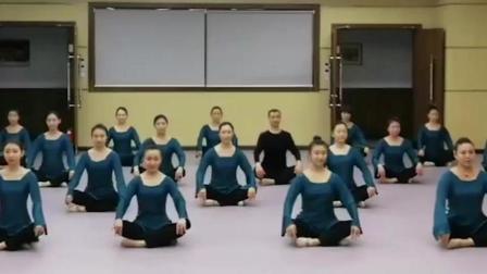 北京舞蹈学院中国古典舞身韵《冲靠》组合