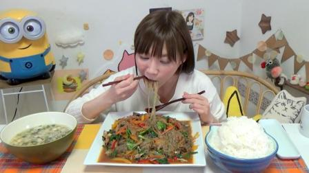 12人份韩国春雨「DANGMYUN」做成韩国杂菜+饭汤总4公斤