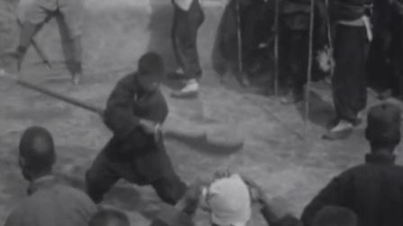 一百年前的武林高手是什么样子的, 老录像还原真正的传统武术