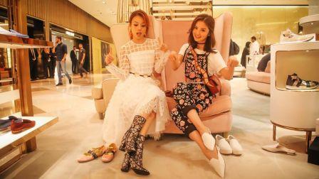 蔡卓妍和容祖兒在迪拜旅游 旅游搭配指南
