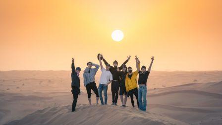 EXO畅玩迪拜沙漠