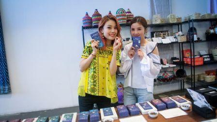 蔡卓妍和容祖儿 在迪拜旅游手信推荐