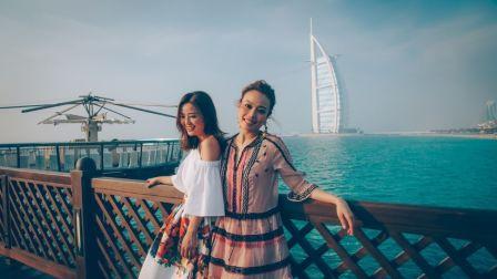 蔡卓妍和容祖儿的迪拜之旅