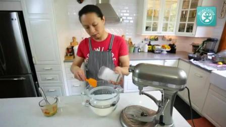 南宁蛋糕培训 戚风蛋糕如何脱模 蛋糕制作方法视频