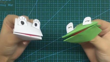 【可乐姐姐做手工】拇指青蛙-去旅行吧