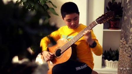 孙嘉林吉他演奏,《绿袖子》潍坊古典吉他培训