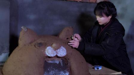李子柒古香古食 第一季 第33集 萌到心肝颤儿的面包窑 带着微熏炭火香