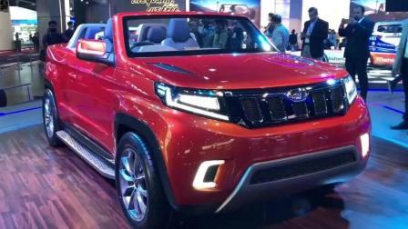 SUV市场硝烟弥漫, Mahindra Stinger敞篷SUV能否占得一席之地?