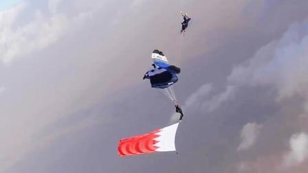 极限狂人上演滑翔伞跑酷 创意挑战超高难度翻滚飞跃