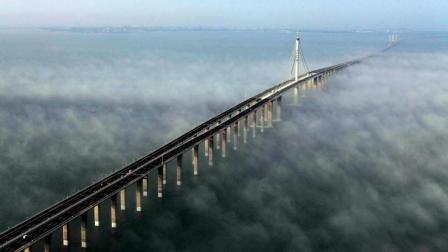 中国最壮观的大桥: 耗资95亿4年建成, 被美国评为全球最棒桥梁