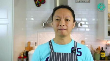 千层蛋糕学习 蛋糕坯子的制作方法 蛋糕上水果摆法和切法