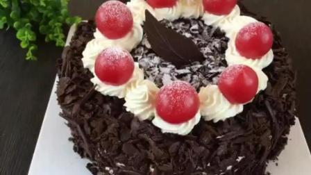 简单杯子蛋糕的做法 西点蛋糕培训 烘焙教程视频