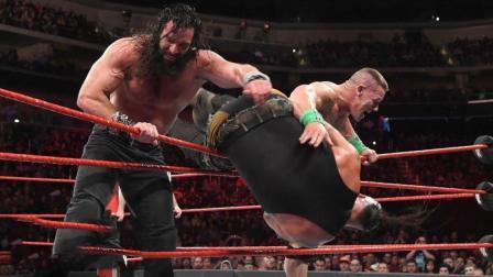 想要称霸WWE的黑羊, 被约翰塞纳联合艾吉各种吊打!