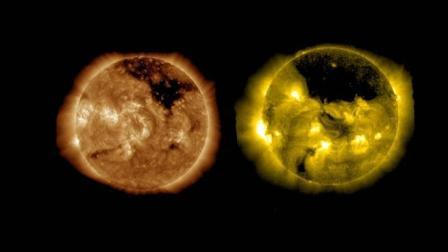 科学探索: 太阳表面黑色区域不断增加, 地球将会