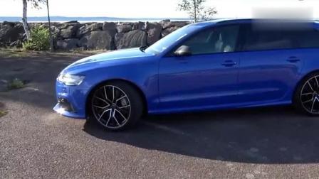 2018款奥迪RS6 , 优雅与运动兼备的旅行轿跑! 心动吗?