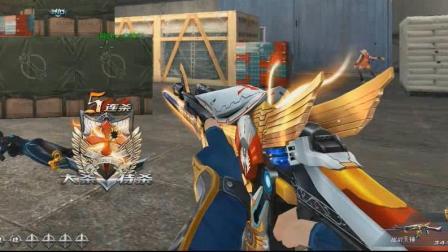 生死狙击首把传说级武器AK47天神! 眼花缭乱的特效