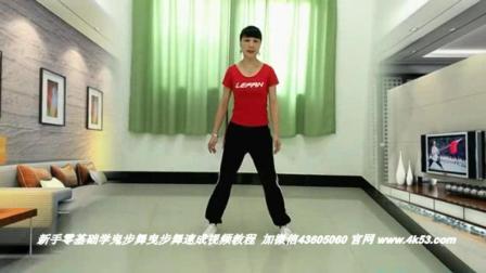 学广场舞鬼步舞分解动作 广场舞鬼步舞京剧 健身舞基础教学