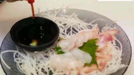 日本刺身: 那么大一条刺鲀, 怎么就那么几片肉呢?