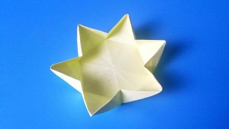 折纸王子大全 简单折纸 教你折纸六角形盒子简单易学
