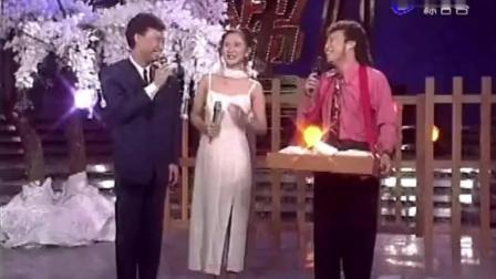 张菲和费玉清兄弟俩搭档主持, 女嘉宾笑到不想录制