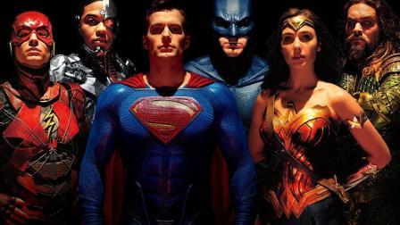 :一口气看《正义联盟》蝙蝠侠超人神奇女侠闪电侠海王钢骨全登场