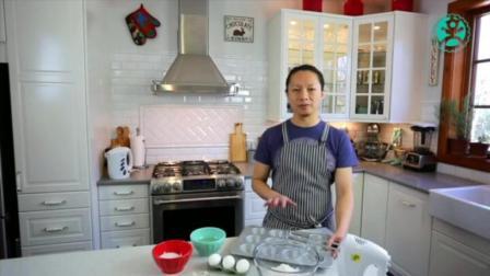 哈尔滨面点培训学校 巧克力爆浆蛋糕 无糖蛋糕的做法和配方