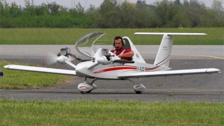 世界上最小的直升机, 10分钟装好, 折叠起来能放包里!