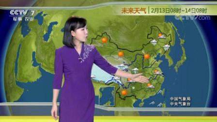 中央气象台农业天气预报: 西藏和青海南部会有雨雪天气, 全国其它地方以晴或多云天气为主