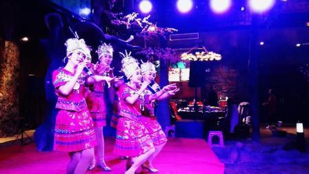 苗族歌舞: 《苗岭连北京》——旗协2018迎春年会节目