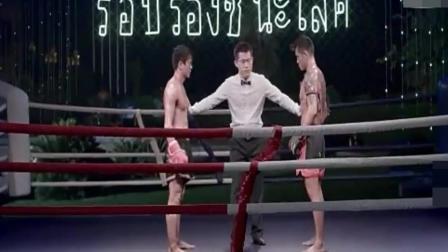 泰国拳王瞧不起中国武术! 穷小伙上台一拳把对方打晕!