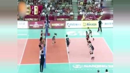 外国解说员疯狂啦, 中国巴西女排恩怨化解, 就因为朱婷的这一场球