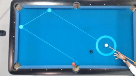 打台球神器, 能显示击球线路, 让你瞬间变成台球高手!