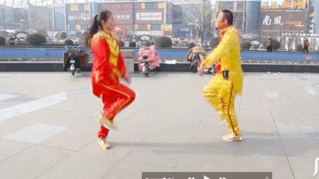 最适合情侣跳的32步鬼步舞双人舞, 太好看了!