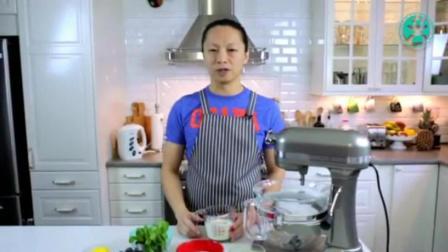 6寸奶油蛋糕的做法 蛋糕视频 生日蛋糕裱花