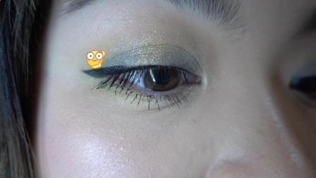 [UgU]【闹着玩呢】没有情人的情人节妆容 你们粉嫩 我来黄黄绿绿 Anastasia prism眼影盘