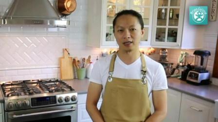 烤箱自制蛋糕简单做法 西点蛋糕面包职业培训 做蛋糕的材料