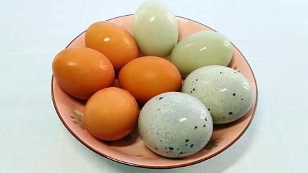 鸡蛋, 皮蛋, 咸鸭蛋放在一起居然这么好吃, 一大盘不够吃