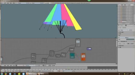 blenderCN-SV节点建模技巧-社区卢瑜分享技术-制作雨伞