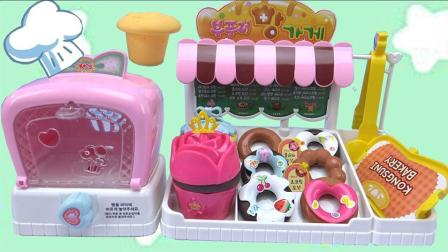 奇奇和悦悦的玩具 2017 小猪佩奇甜甜圈蛋糕甜品店 383