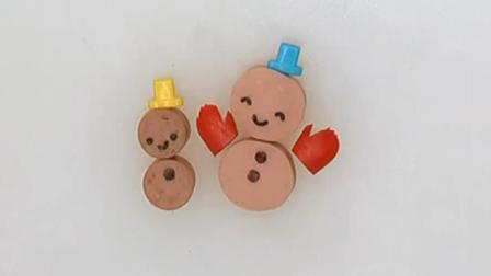 【小豆包美食】在南方想堆个雪人都难, 那就做个雪人便当吧!
