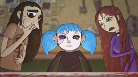 《蠢脸sally face》第三章02丨女版屠夫!