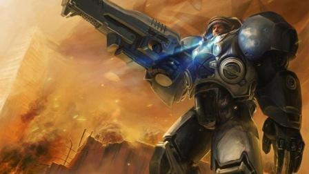 莫斯科保卫战 超级大翻盘 3下沙漠风暴星际争霸2游戏大厅白杨machine