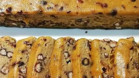 教你自制葡萄干红豆年糕, 甜而不腻做法很简单哦!